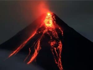 Does Come from Lava