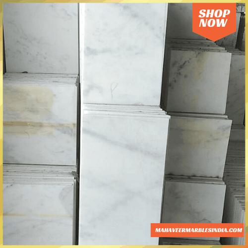 Ambaji White Marble Tiles