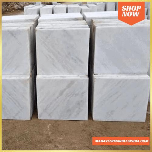 Rajnagar White Marble Tiles Price