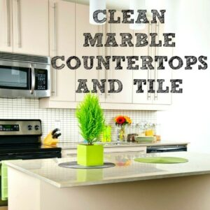 Tips to Clean Marble & Granite Countertops
