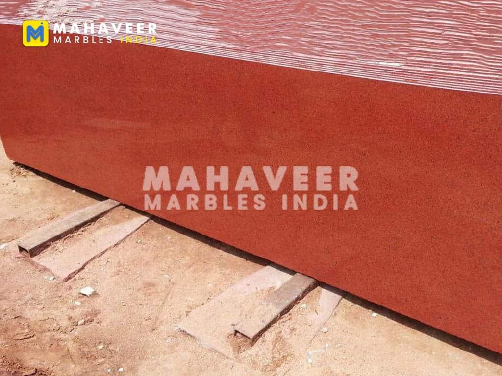 Lakha Red Granite Slab