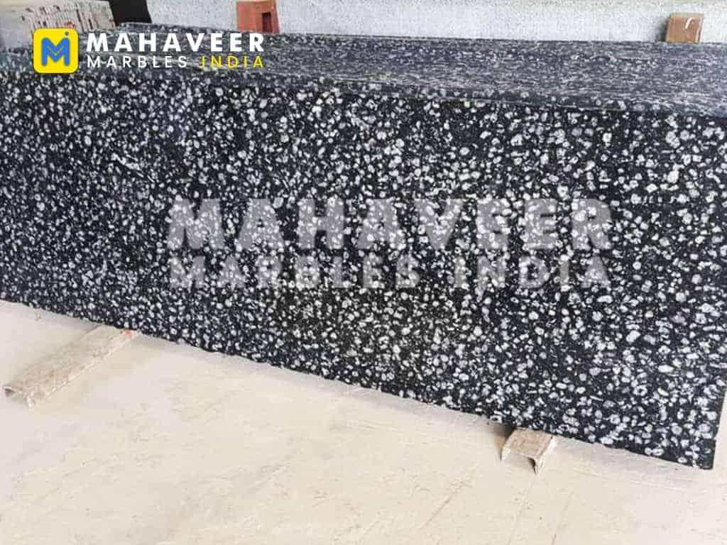 Coin Black Granite Texture