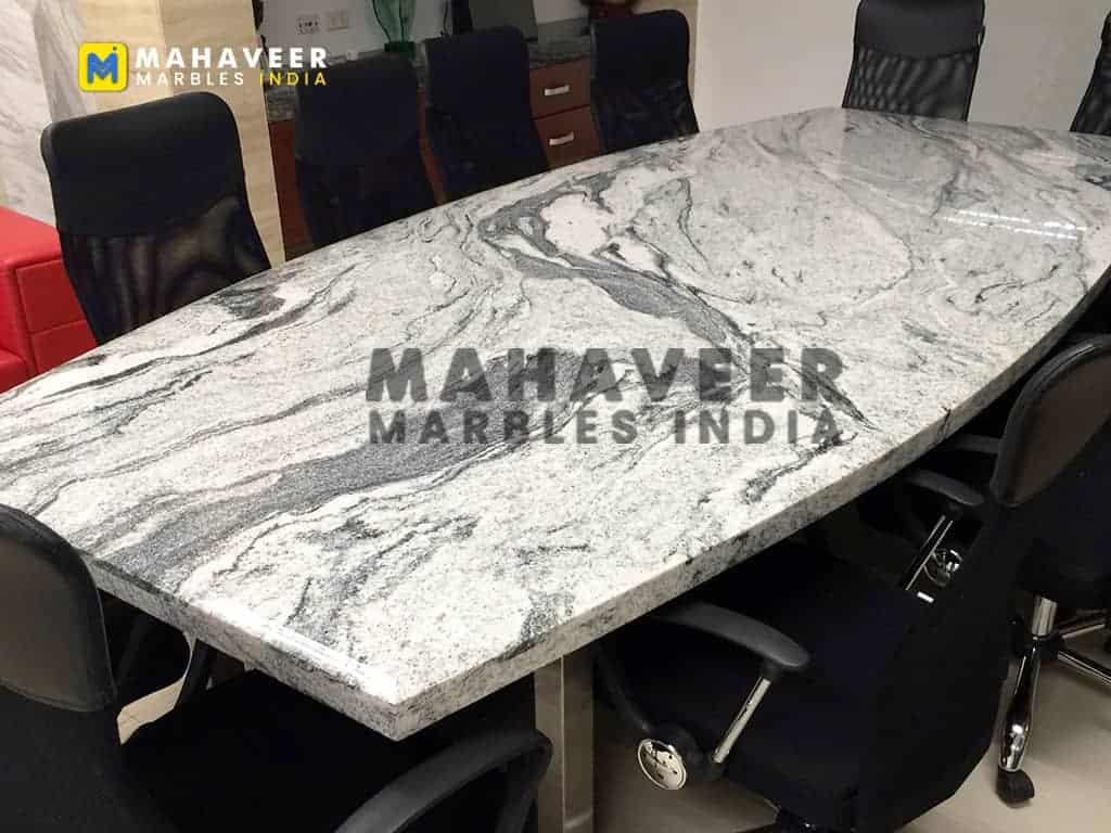 Viscon White Granite Table Top