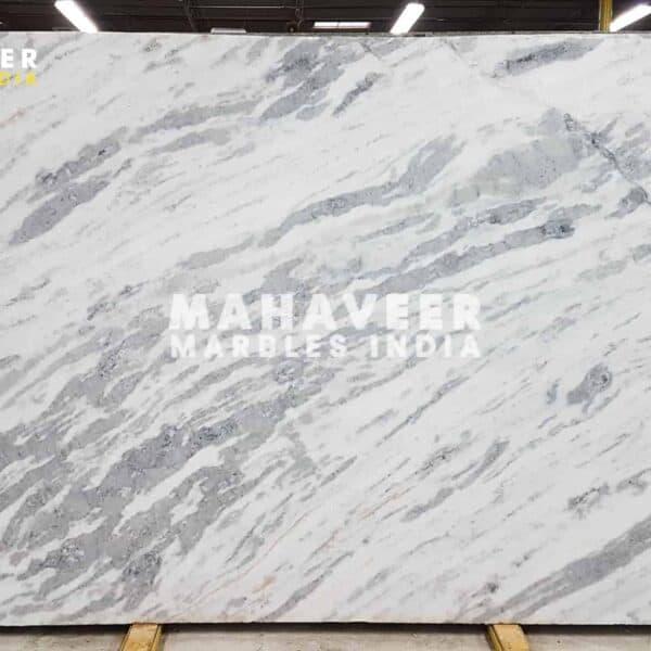 White Indian Statuario Marble