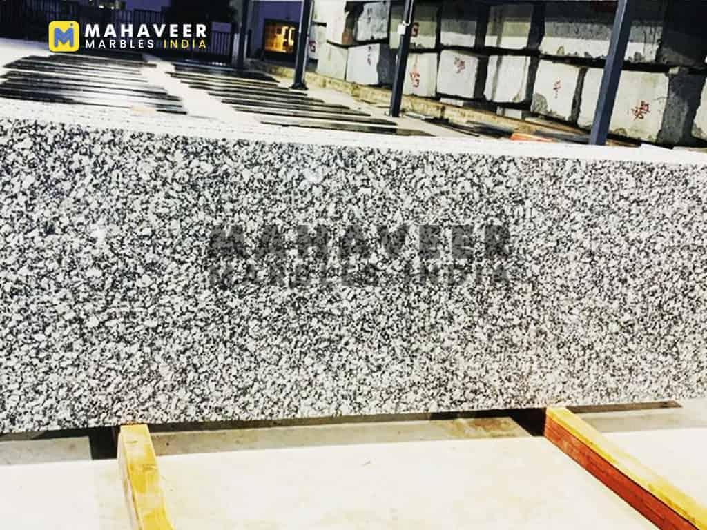 P White Granite Slab