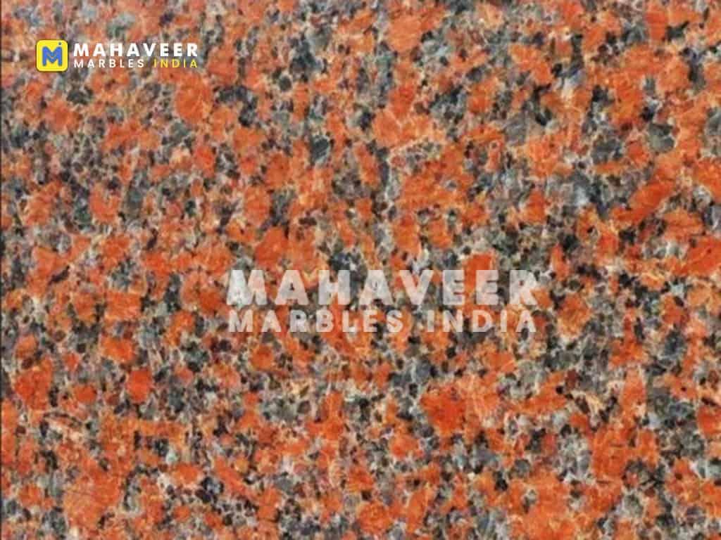 Maple Red Granite Texture