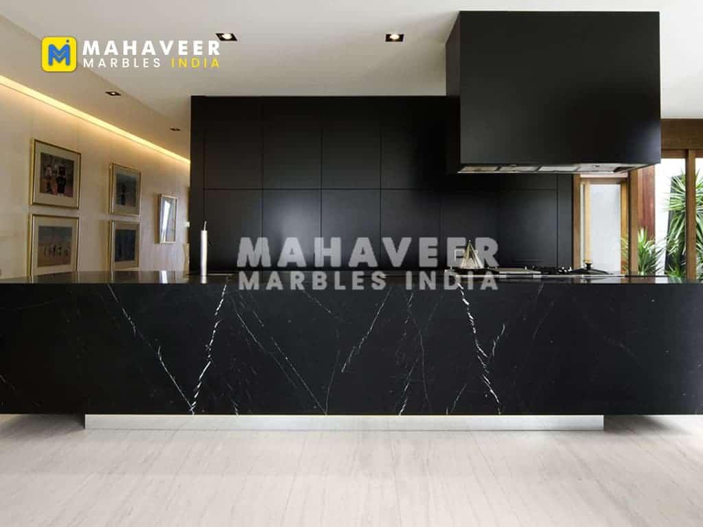Black Marquina Granite Counertop