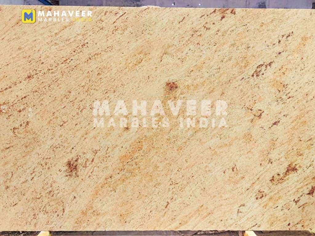 Bahama Ivory Gold Granite Texture