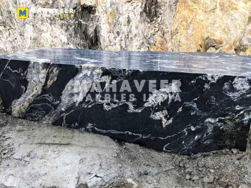 Titanium Black Granite Block