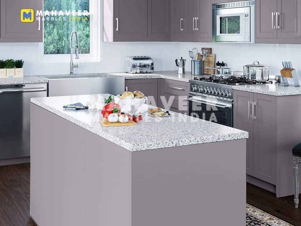 Pearl White Granite Countertop