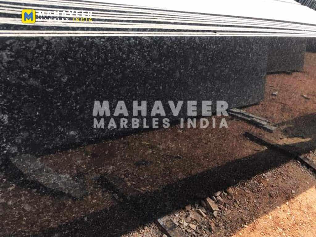 Majestic Black Granite Texture
