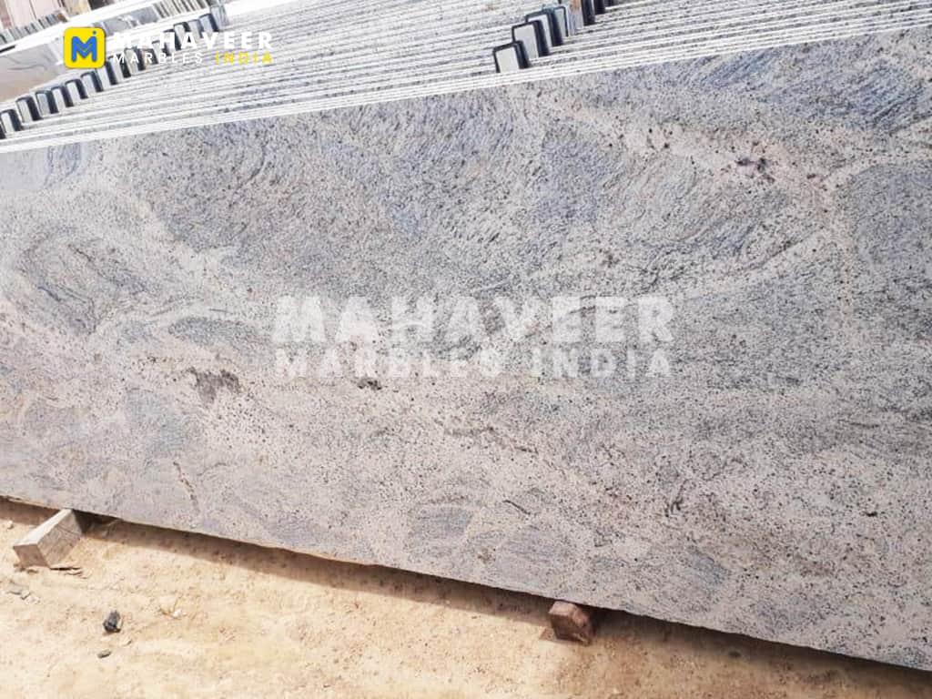 Kashmir White Granite Texture