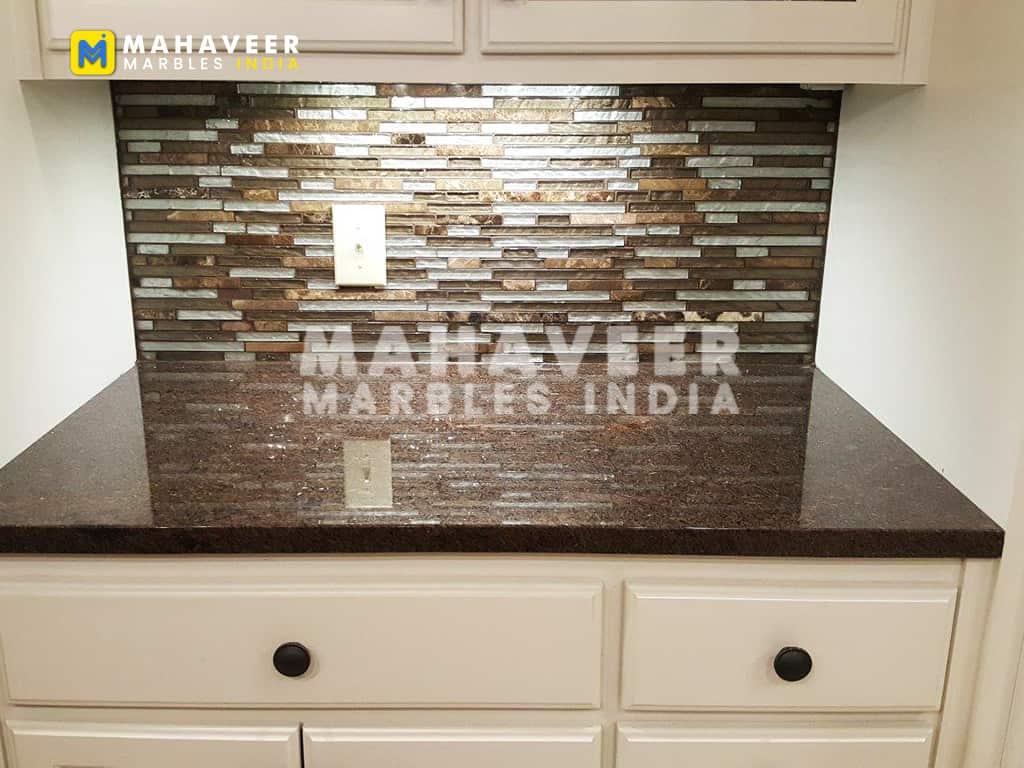 Brown Pearl Granite Countertop