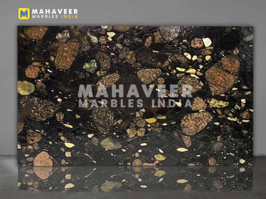 Cobbles Marinache Black Granite